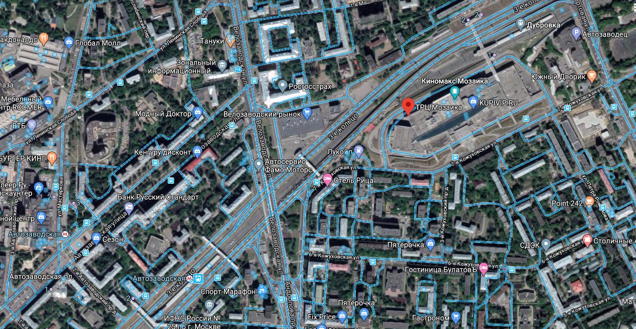 Фото 3 с точки продаж г. Москва 7-я Кожуховская ул., 9